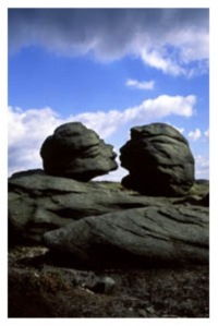 Karen Frenkel Kissing Stones Bleaklow
