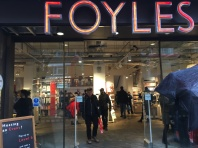 HP Foyles entrance